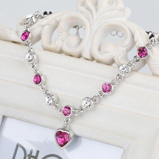 Wewoo - Bracelet or et Violet Mode 12 Constellation Cristal Bracelets  plaqué Anti-allergie Bijoux 6b75992e8b0
