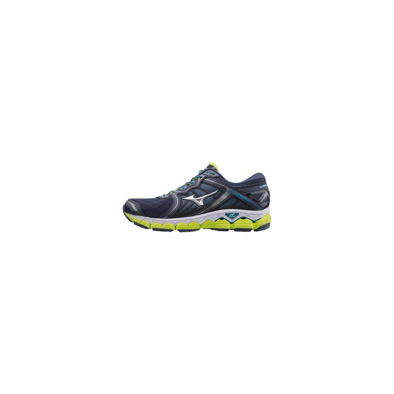 Mizuno - Wave Sky - pas cher Achat / Vente Chaussures running
