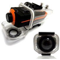 Yonis - Caméra sport embarquée étanche écran Pro Hd 1080P Grand angle