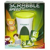 Mattel Games - Jeu De Plateau Scrabble Flash