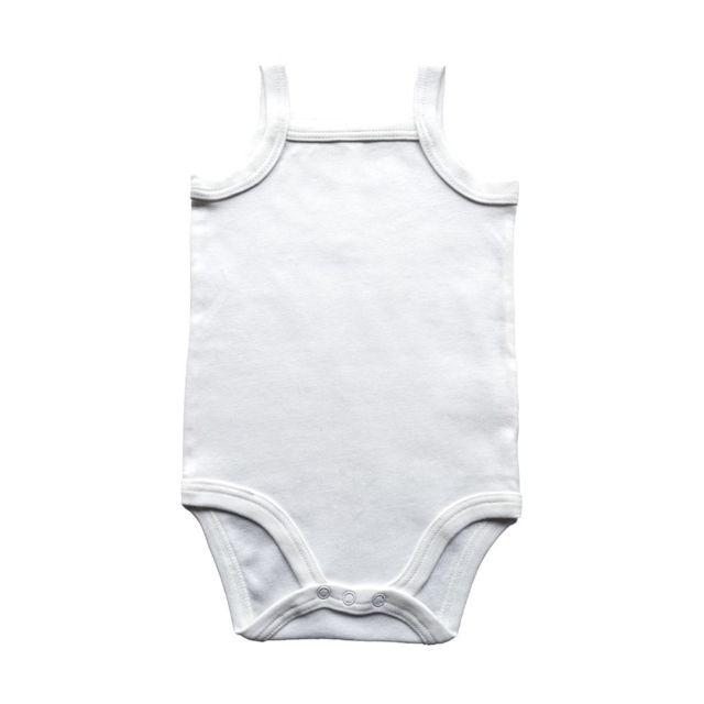 Babybugz - body bébé à bretelles - Bz28 - blanc - pas cher Achat ... 9fbaaebf3de