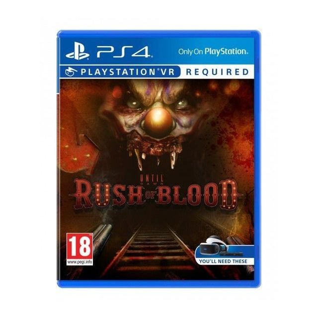 SONY UNTIL DOWN : Rush Of Blood - PS4