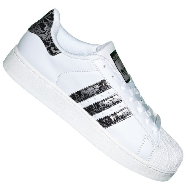 adidas originals superstar foundation blanc / noir
