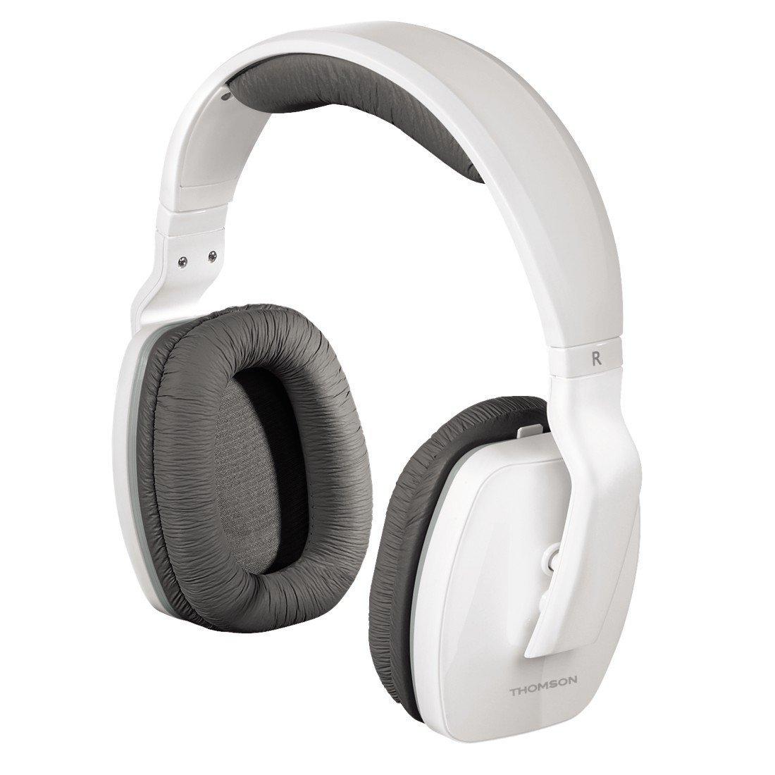 Soldes thomson whp3311w blanc pas cher achat vente - Casque pour ecouter la tv sans couper le son ...