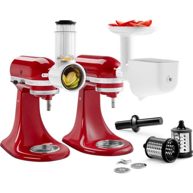 KITCHENAID kit de 3 accessoires pour robot artisan - 5ksm2fppc
