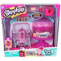 SHOPKINS - Coffret Cupcake Queen Café 2 personnages exclusifs HPK08