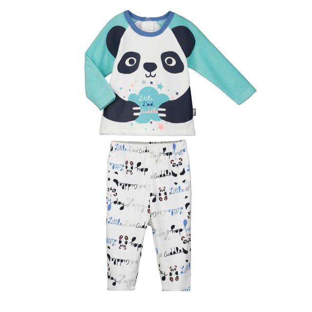 dade6c387714b Petit beguin pyjama bébé 2 pièces pandalapin taille 18 mois 86 cm