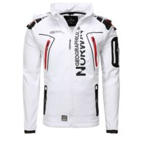 Geographical Norway - Veste Softshell Taco Blanc