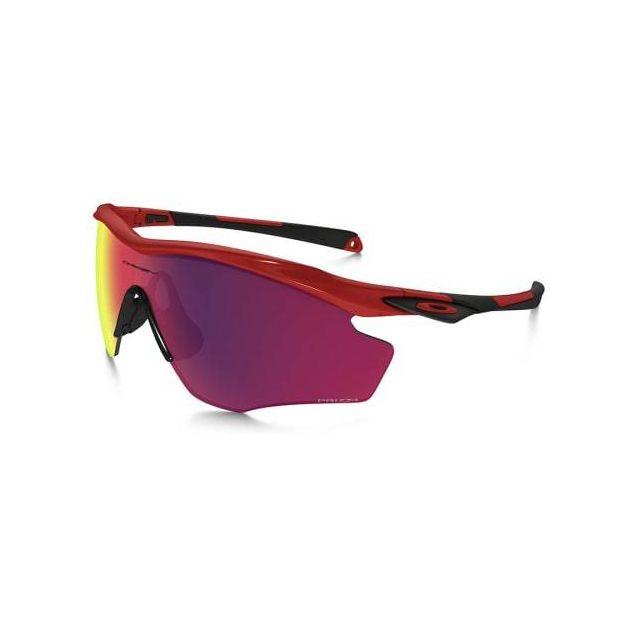 10d73362c16b07 Oakley - Lunettes M2 Frame Xl rouge avec verres Prizm Road - pas ...