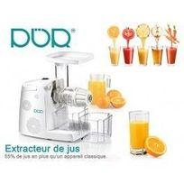 Desineo - Slow Juicer 80t/min extracteur pour Jus de fruit et de légumes avec râpe offerte