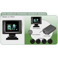 Bcelec - Radar de recul avec ecran et 4 sensors