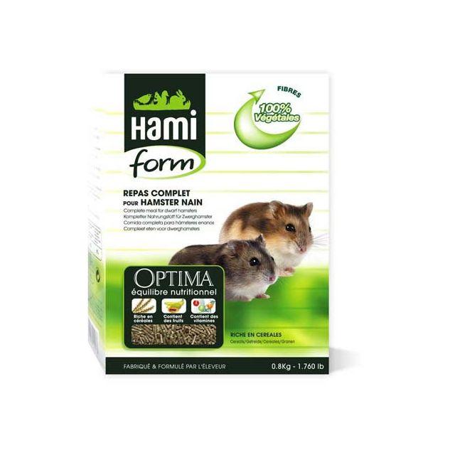 Hamiform Hami Form Repas Complet Optima Hamster Nain