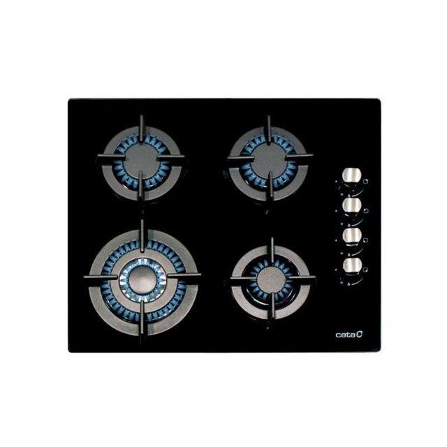 Cata Plaque au gaz Cci6031 60 cm Noir 4 cuisinière