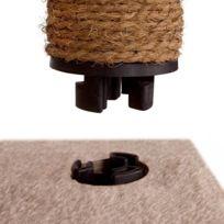 Leopet - Arbre à chat de hauteur moyenne dans 6 couleurs et 3 motifs bordeaux
