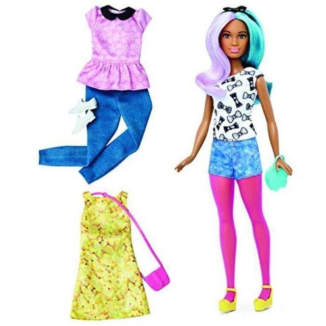 Barbie - Fashionistas Tenue 42 - pas cher Achat   Vente Poupées ... 2b9e19819300