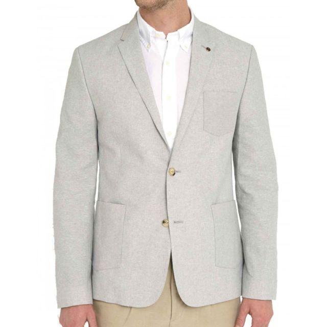 de Achat Linen Veste Sherman cher pas Cotton Blazer costume Ben E76vZBnqw