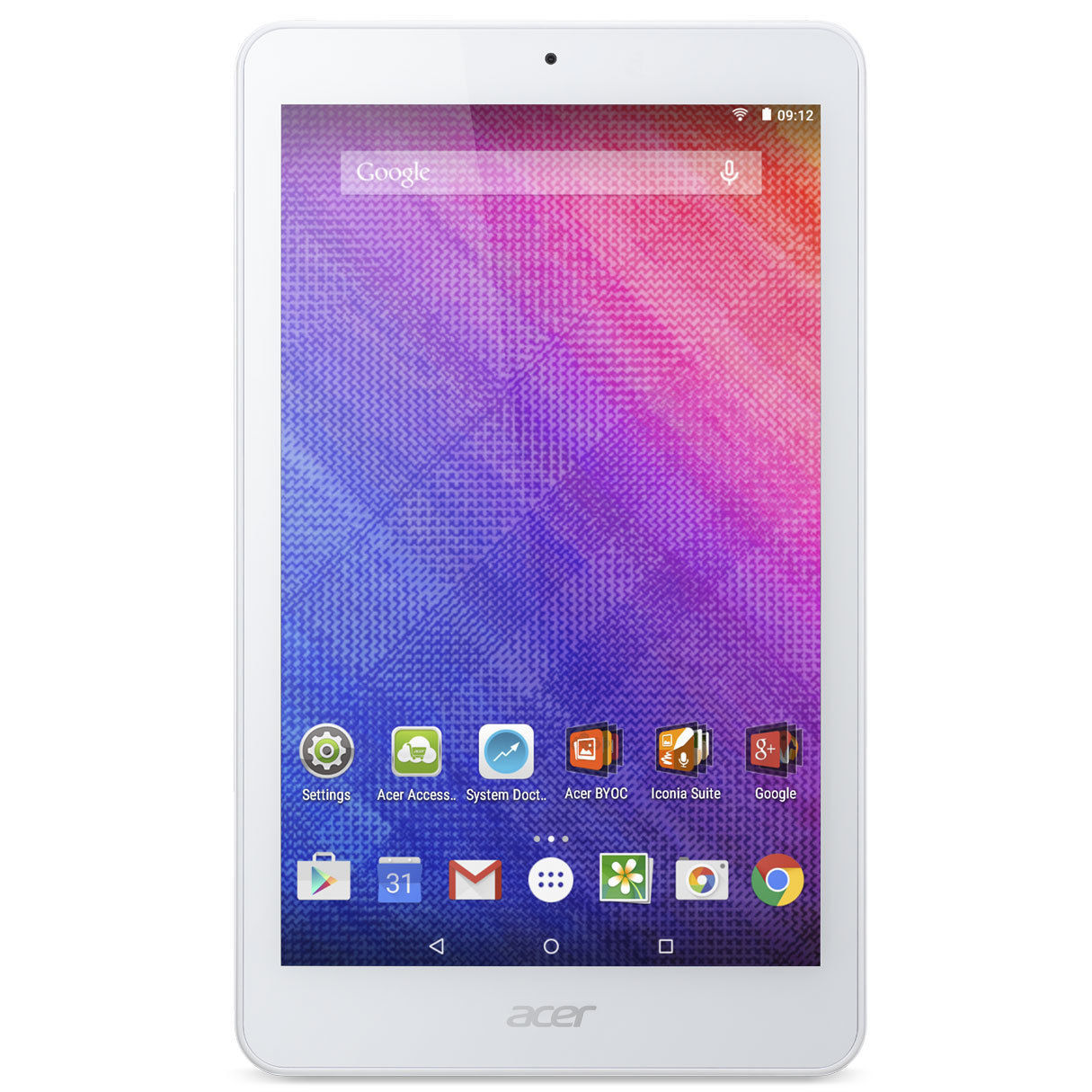 Tablette Internet - Intel Atom Z3735G 1 Go eMMC 16 Go 8'' LED IPS Tactile Wi-Fi N/Bluetooth Webcam Android 5.0