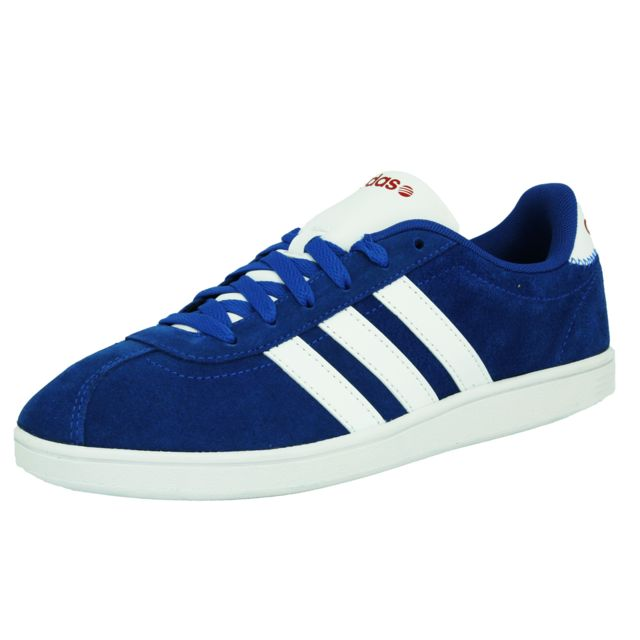 Adidas Neo Vlneo Court Chaussures Sneakers Mode Homme Cuir