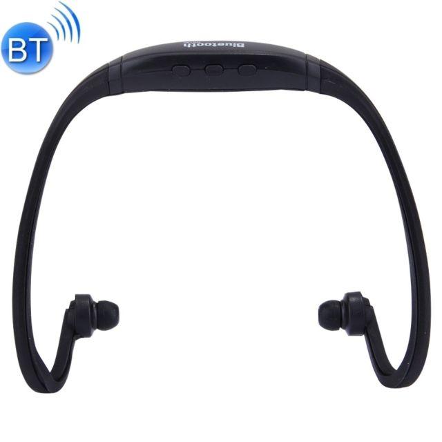 Wewoo Casque Bluetooth Sport Noir Pour Les Smartphone Ipad Ou