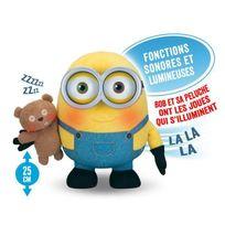 Mondo - Les Minions Peluche Electronique Berceuse Bob 25 cm