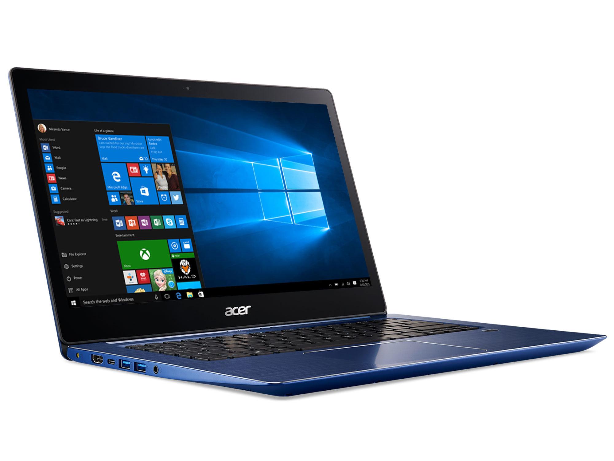Swift 3 SF314-52-70QS - Bleu