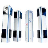 FIRST INNOV - dsp80-f4 - totalement sans fil ! alarme périmétrique 4 bornes Prima Protect