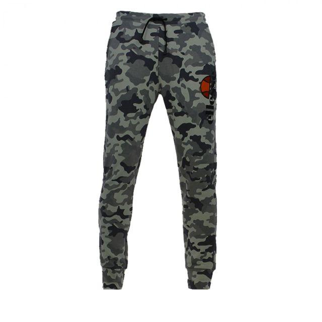 Ellesse - Pantalon de survêtement Eh H Pant Molleton Camo - Ref. Eh-pant-molletoncamo-an  - pas cher Achat   Vente Survêtement homme - RueDuCommerce e17581f9808
