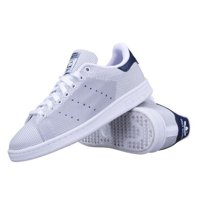 matériaux de qualité supérieure meilleure collection Livraison gratuite dans le monde entier Adidas originals - Chaussure Adidas Stan Smith B24710 Blanc ...