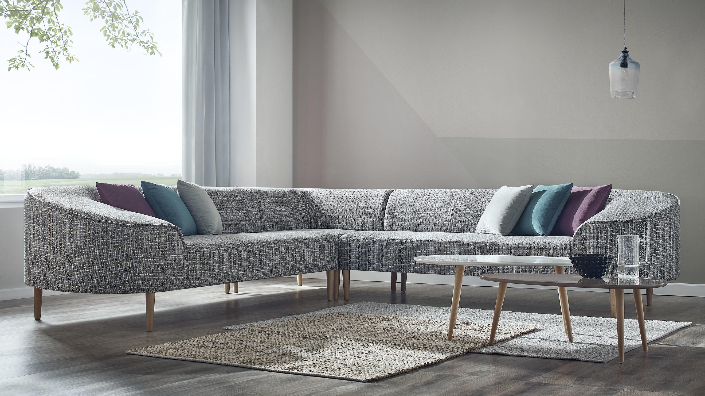 bobochic canape d 39 angle panoramique 6 places bar a gris achat vente canap s pas chers. Black Bedroom Furniture Sets. Home Design Ideas