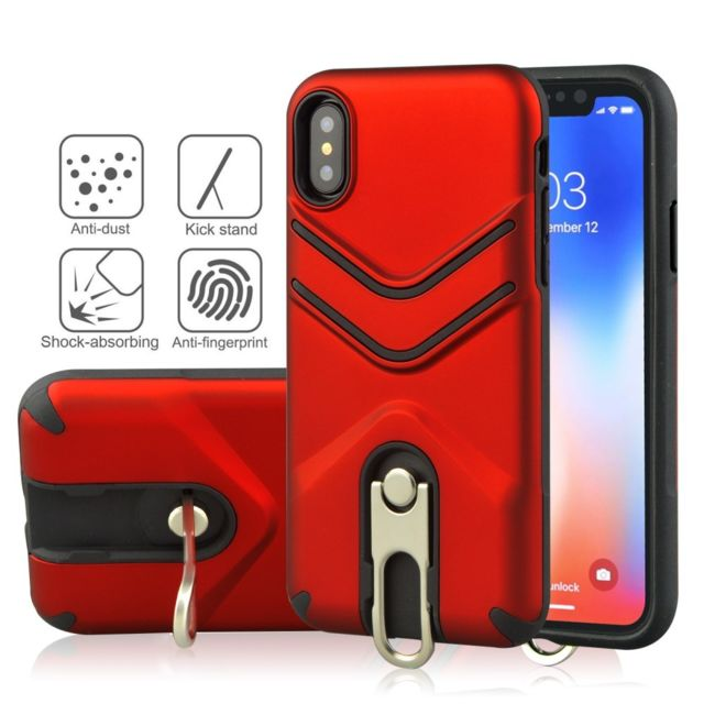 coque iphone xr rouge mat