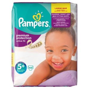 Pampers active fit taille 5 junior plus 13 a 2 pas for Pampers couche piscine