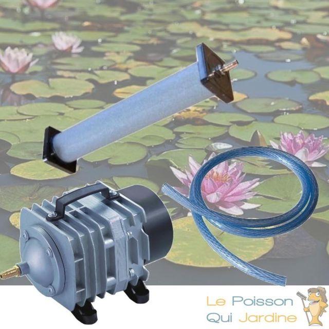 Le Poisson Qui Jardine Set aération N4 bassin de jardin de 5000 à 7000 litres
