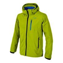 Cmp - Veste Softshell Zip Hood vert bleu