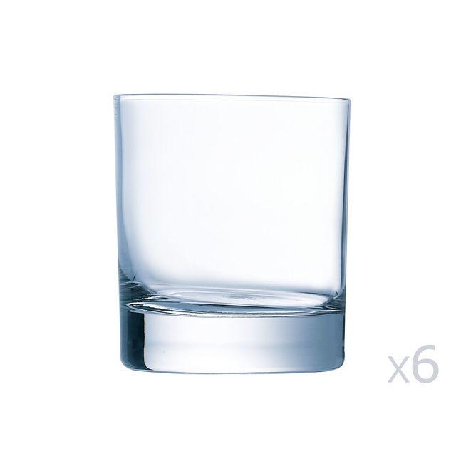 Chef Et Sommelier Gobelet en verre forme basse 30cl - Lot de 6 pièces Linely