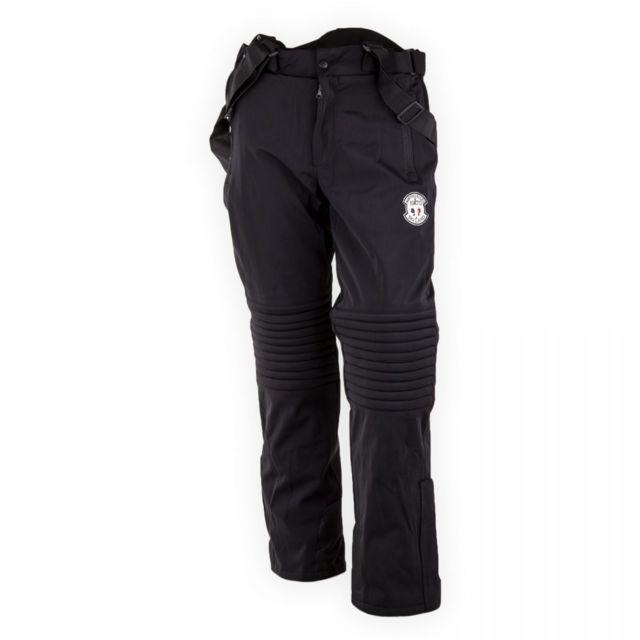 061f6e60f510a North Valley - Pantalon de ski noir homme - pas cher Achat   Vente Pantalon  homme - RueDuCommerce