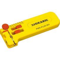 Jokari - Micro-pince à dénuder, Valeurs de dénudage du Ø : 0,30 0,40 0,50 0,60 0,80 1,00 mm