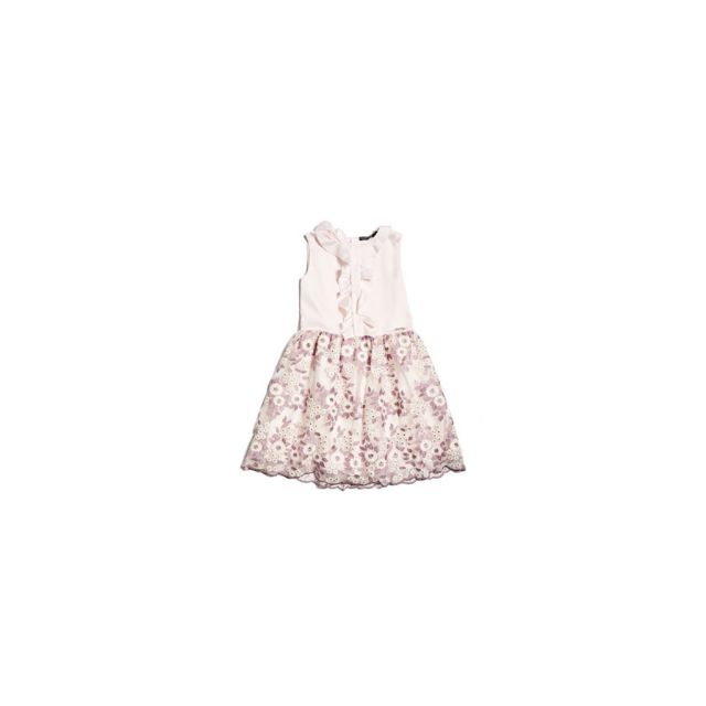 cf23711103d94 Guess - Robe Fille J81K15 Rose - Taille - 16 ans - pas cher Achat   Vente  Robe enfant - RueDuCommerce