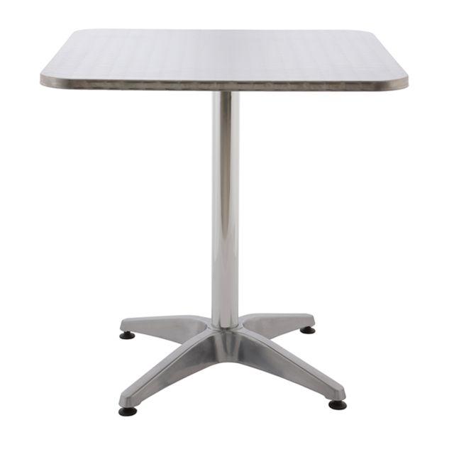 Rotin-design Soldes: -46% Table de jardin Aoste en Aluminium - Rotin Design