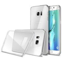Caseink - Coque Ultra Fine 0.5mm Souple Crystal Clear View pour Samsung Galaxy S6 Edge+ / Plus