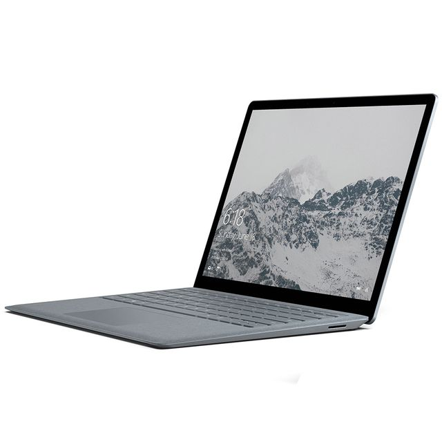 MICROSOFT Surface Laptop - 256 Go - Gris Platine