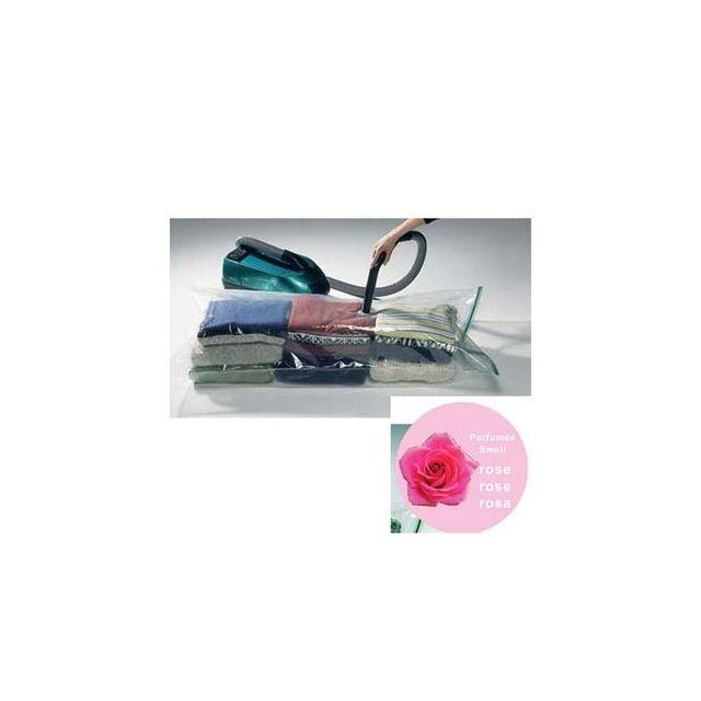 msv housse gain de place vide d 39 air parfum rose. Black Bedroom Furniture Sets. Home Design Ideas