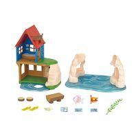 Sylvanian Families - Cabane de l'île sécrète - 5229