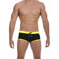 Gigo - Shorty de bain Hot Black Yellow