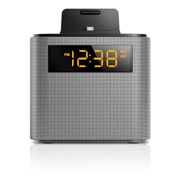 PHILIPS Radio réveil AJ3250 Argent pas cher Achat