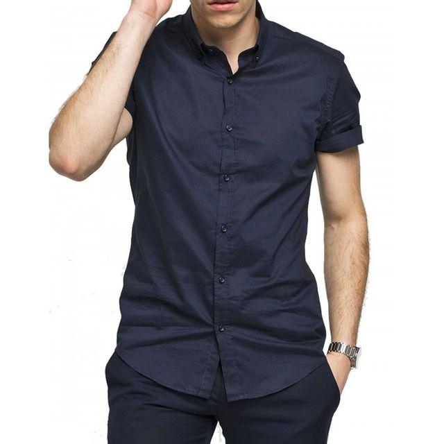 Antony Morato - Chemise de costume Mmss00063-FA400035 - pas cher Achat    Vente Chemise homme - RueDuCommerce 249b404ede2