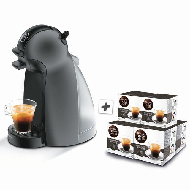 Krups Dolce Gusto Piccolo 6 Boites De Cafe Yy3103fd Anthracite