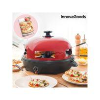 Marque Inconnue - Four pour Mini Pizzas avec Livre de Recettes Presto! InnovaGoods 700W Rouge Noir