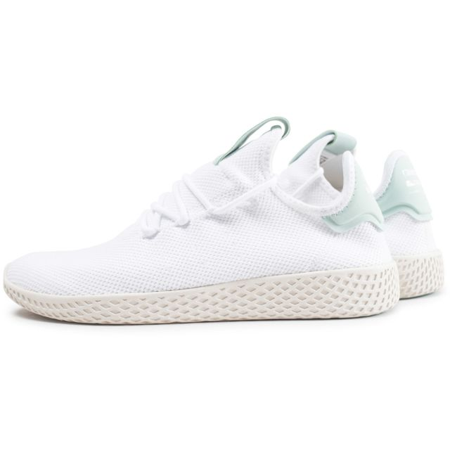 Adidas originals Pharrell Williams Tennis Hu Blanche Et