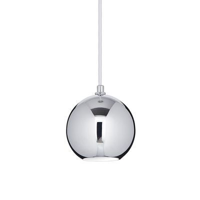 boutica design suspension mr jack big chrome 1x28w ideal lux 116464 pas cher achat. Black Bedroom Furniture Sets. Home Design Ideas