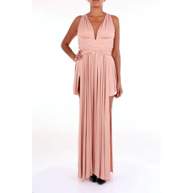 Babylon Femme Hs00871ROSA Rose Autres MatÉRIAUX Robe